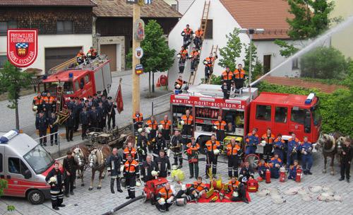 Die Feuerwehr Eschlkam