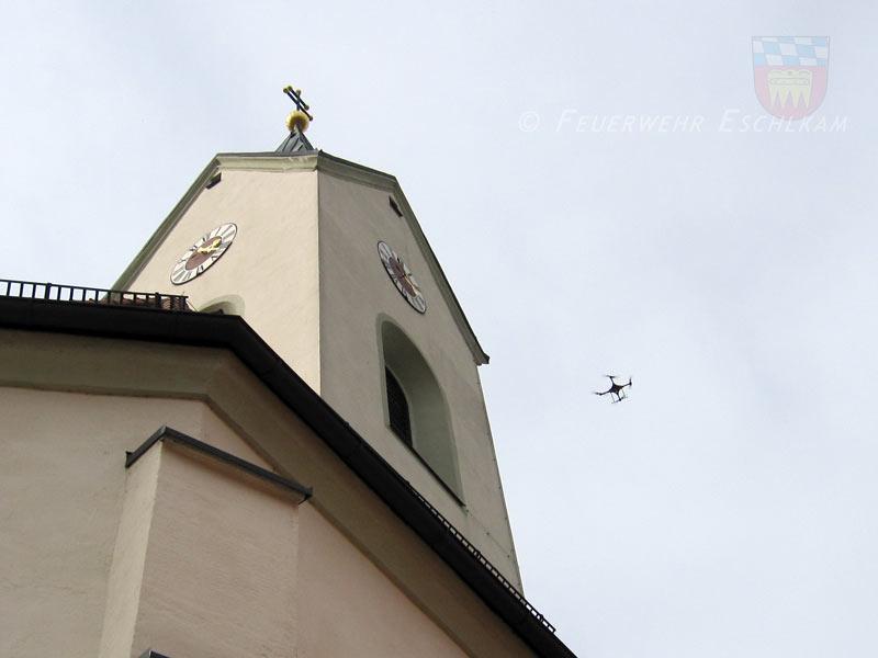 Drohnenkontrollflug
