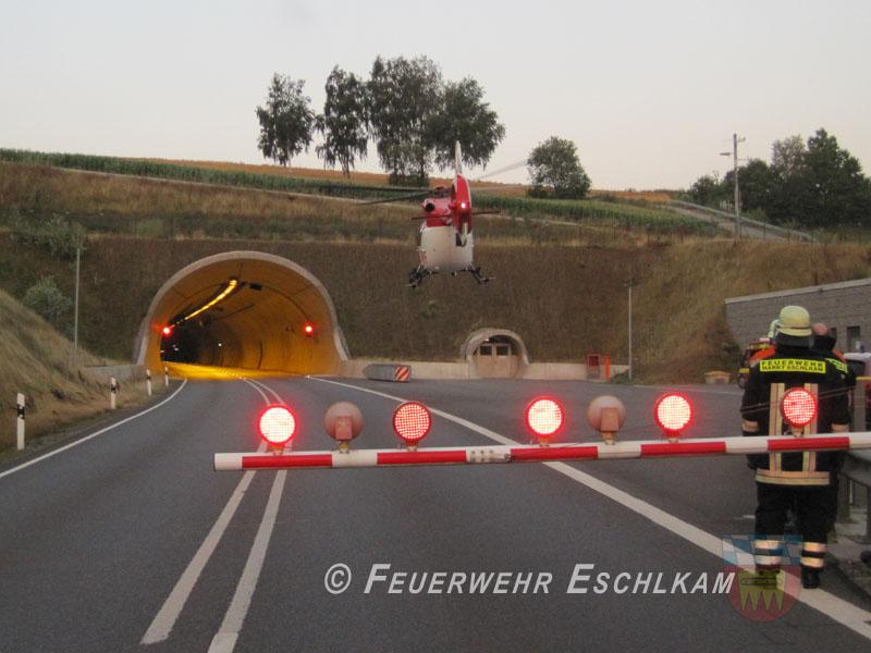 Tunnel-gesperrt