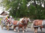 Oktoberfest-Fasswagen