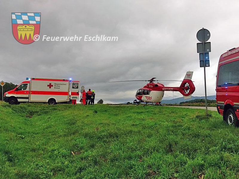 Transport-zum-Hubschrauber