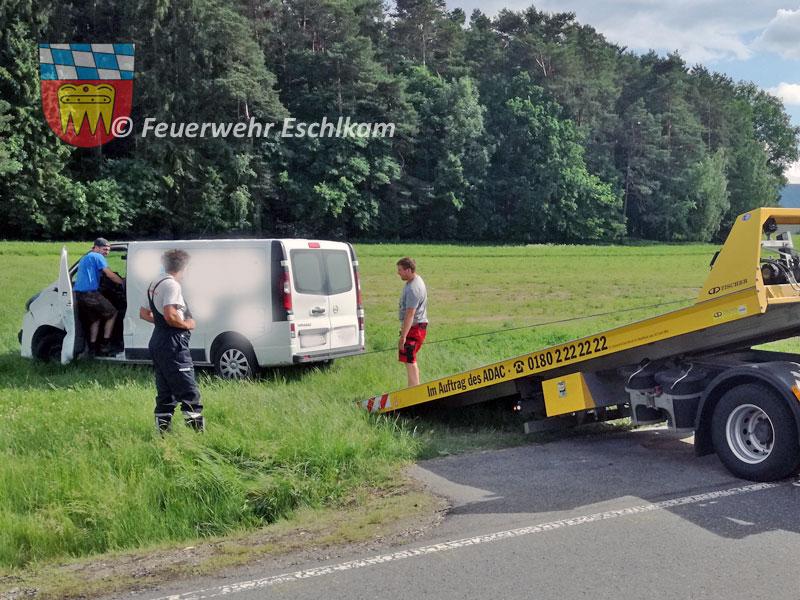 Klein-Lkw-Abtransport