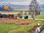 Kehrmaschine-Richtung-Sportplatz
