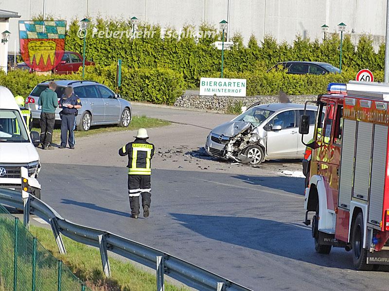 Unfall-Kreuzungsbereich