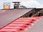 Baustelle-Dacherneuerung