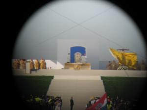 Erster Einsatz beim Papstbesuch