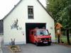 Im geräumigen Feuerwehrhaus in Schwarzenberg ist das TSF beheimatet.