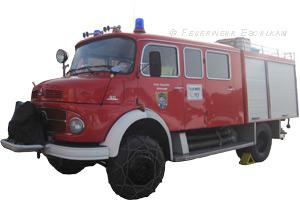 Das Löschgruppenfahrzeug LF 8 war bei der Feuerwehr Kleinaign stationiert.