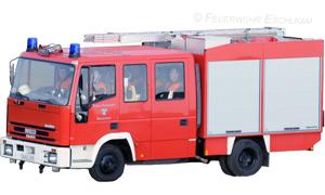 Das LF 8/6 der Feuerwehr Warzenried.