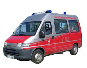 Für verschiedene Aufgaben gibt es verschiedene Feuerwehrfahrzuege.
