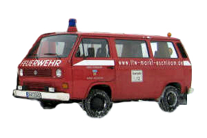 Das erste Mehrzweckfahrzeug (MZF) der Feuerwehr Eschlkam wurde 2003 aus Vereinsmitteln beschafft und erweiterte den Fuhrpark auf ein 3. Fahrzeug.