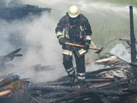 Hitze und Wasser muss der Atemschutzgeräteträger aushalten können.