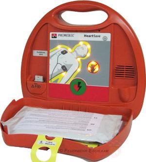 Ein Defibrillator kann von jedem bedient werden.