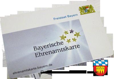 Die bayrische Ehrenamtskarte