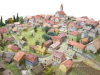 Eschlkam im Miniaturmodell
