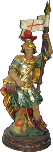 Der Heilige Florian ist der Schutzpatron aller Feuerwehren.