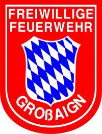 Das Ärmelabzeichen der Freiwilligen Feuerwehr Großaign