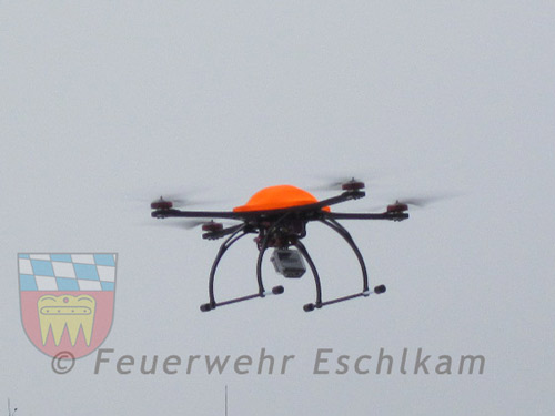 """Klicken Sie hier für die technischen Daten des Quadrocopters """"Merlin"""""""