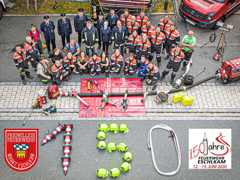 Ein Team - eine Schlagkraft - die Feuerwehr Eschlkam