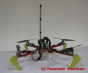 Feuerwehrdrohne HDE 2000