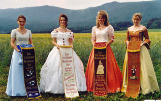 Festmutter, Festbraut und Patenbräute