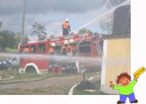 Ein Einsatz der Feuerwehr Eschlkam